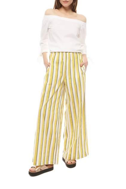 Брюки женские Max&co 71311719_CETRIOLO желтые 44