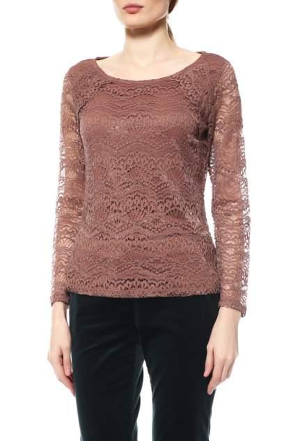 Женская блуза Comma 81.612.32.5768, коричневый