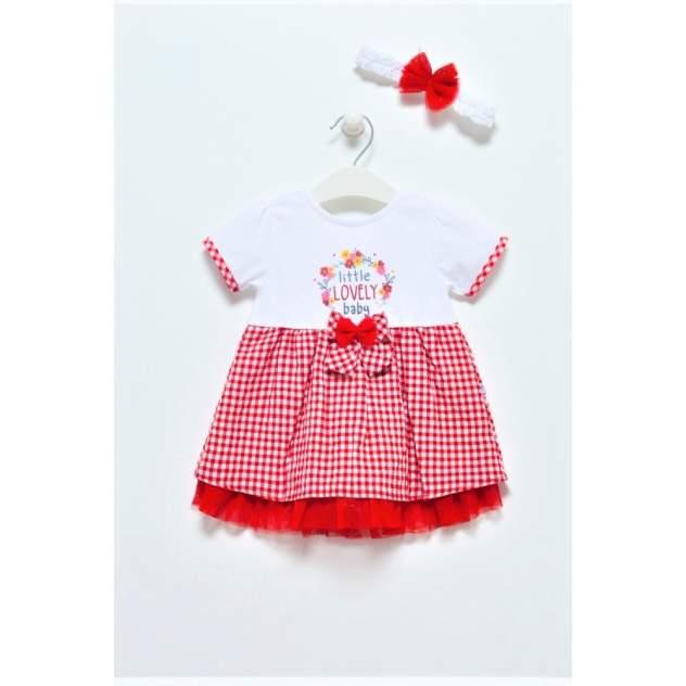 Платье детское Caramell, цв.красный