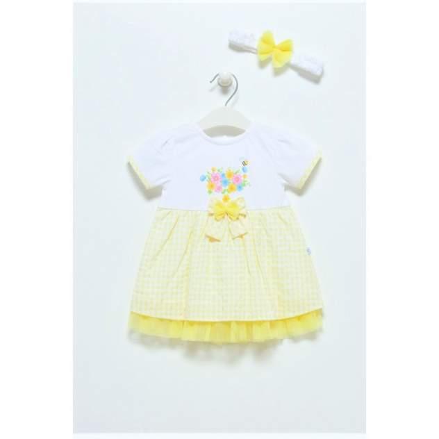 Платье детское Caramell, цв.желтый