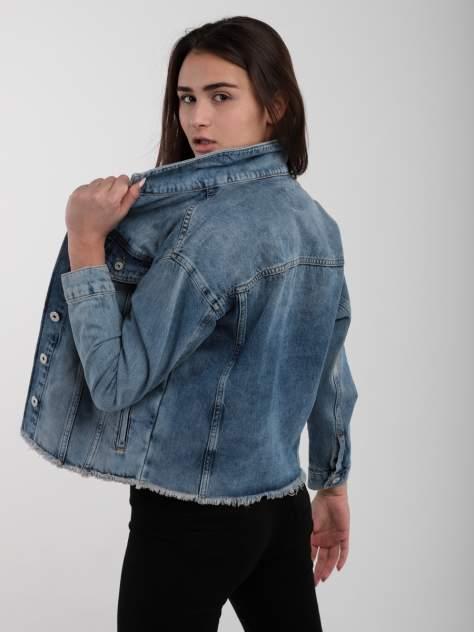 Джинсовая куртка женская A passion play SQ64515 синяя S