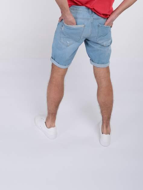 Джинсовые шорты мужские A passion play SQ64516 голубые 29