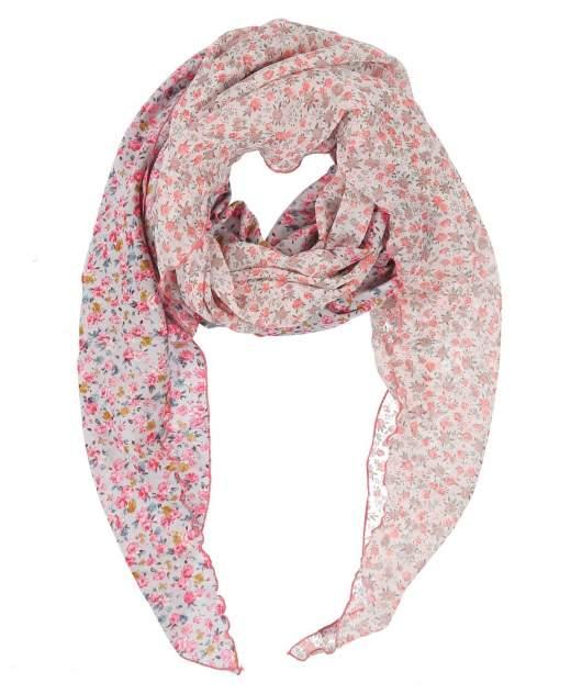 Шарф женский Olange Assorty romby розовый/серый, 250х75 см