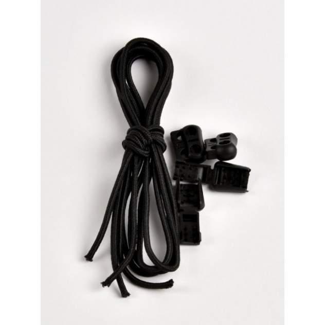 Регулируемые эластичные шнурки Tarrago TL43 черный 100см