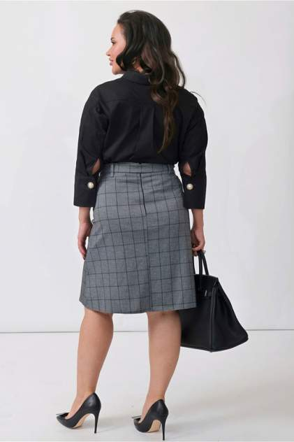 Блуза женская Bordo Бр 269 черная 54