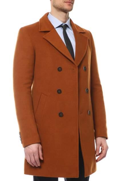 Пальто-бушлат мужское Caravan Wool ШАМЕЛЬ27 коричневое 54-176