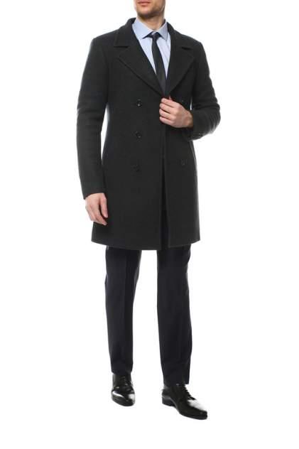 Пальто-бушлат мужское Caravan Wool МАРАДЖ27 зелёное 44-170