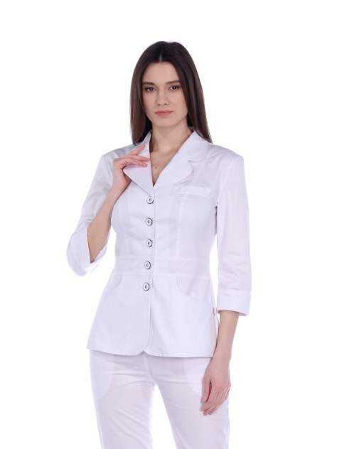Рубашка медицинская женская Med Fashion Lab 03-149-07-023 белая 40-164