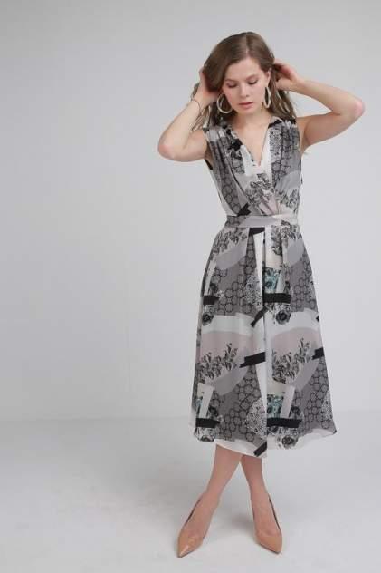 Женское платье LA VIDA RICA 5976, серый