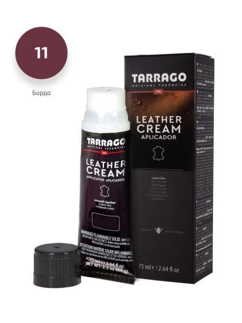 Крем для обуви Tarrago Leather cream (bordeaux) Бордо