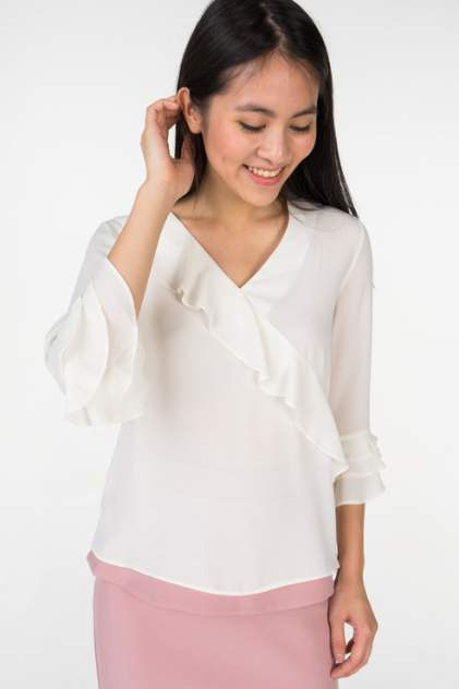 Блуза женская АДЛ 11533836000 белая 46