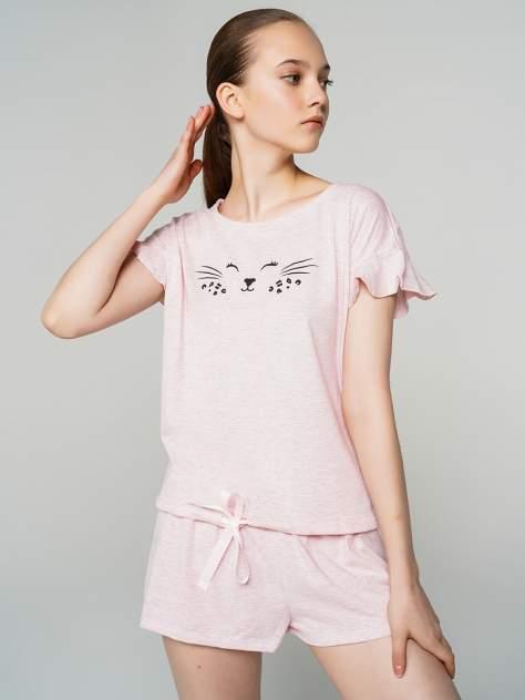 Пижама женская ТВОЕ 71689 розовая XL