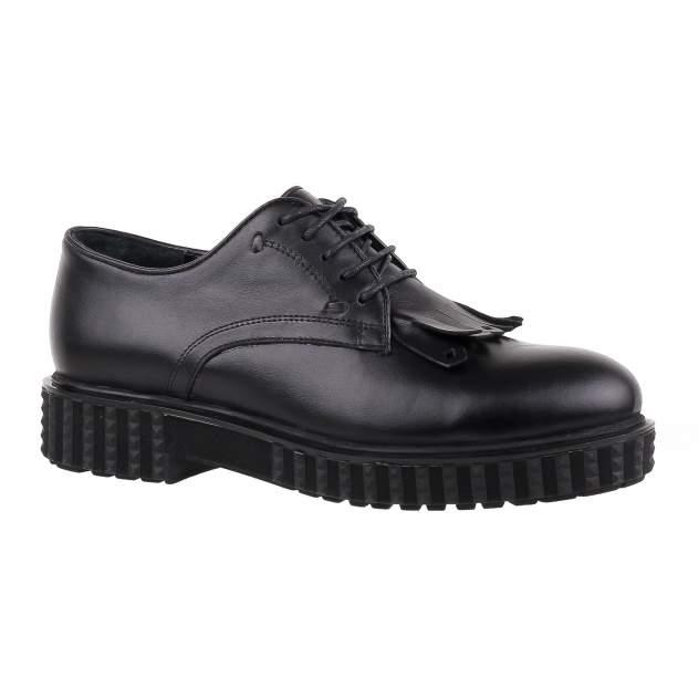Полуботинки женские Shoes Market 165-854-36 черные 40 RU