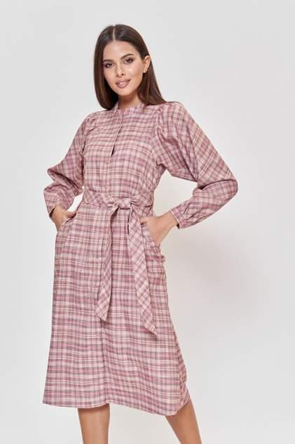 Платье-рубашка женское Vittoria Vicci М1-20-2-2-01-52290-1 красное XS