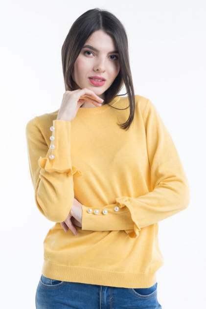 Джемпер женский Baon B138007, желтый
