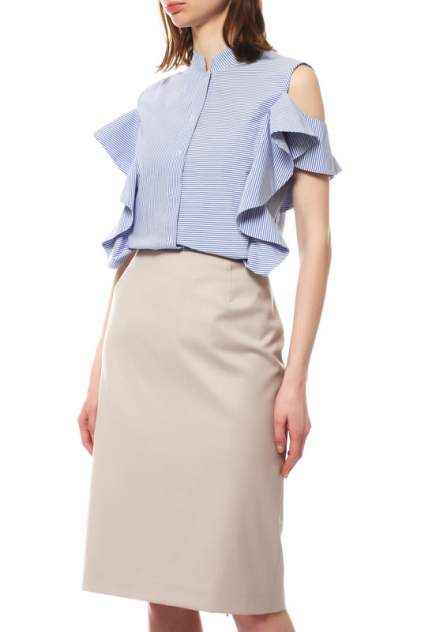 Рубашка женская D.Exterior 46692 голубая M