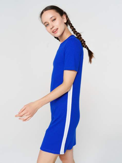 Платье-футболка женское ТВОЕ 71225 синее XL