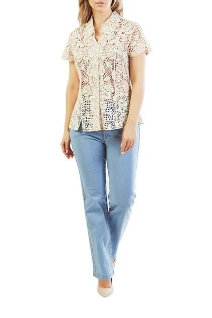 Блуза женская LAFEI-NIER G34961R-J бежевая 50