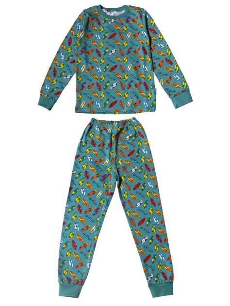 Пижама детская TEKSTIL PLUS, цв. синий