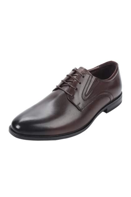 Туфли мужские THOMAS MUNZ 058-407A-1109 коричневые 44 RU