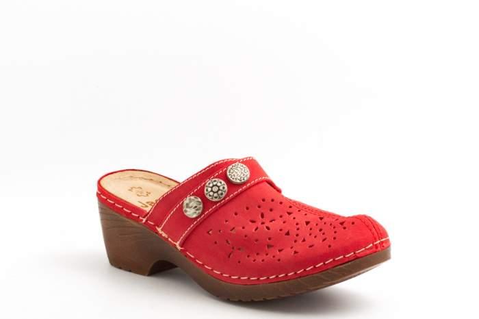 Шлепанцы Jana 8-8-27303-20-500, красный