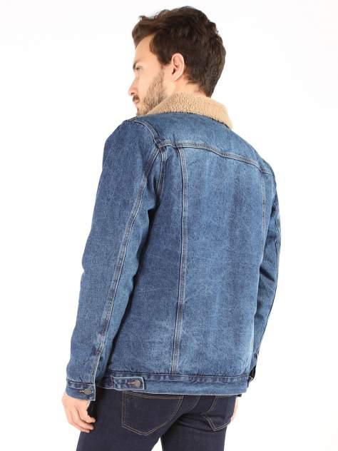 Джинсовая куртка мужская A passion play SQ65974 синяя 56