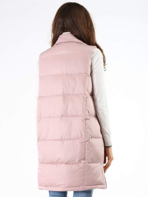 Утепленный жилет женский A passion play SQ64917 розовый XL