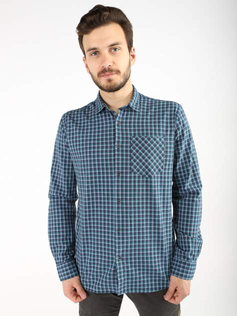 Рубашка мужская A passion play SQ66216, синий