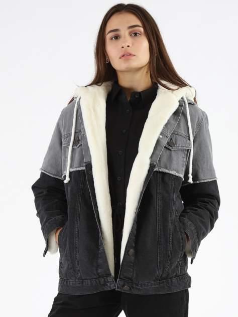Женская джинсовая куртка A passion play SQ66020, серый