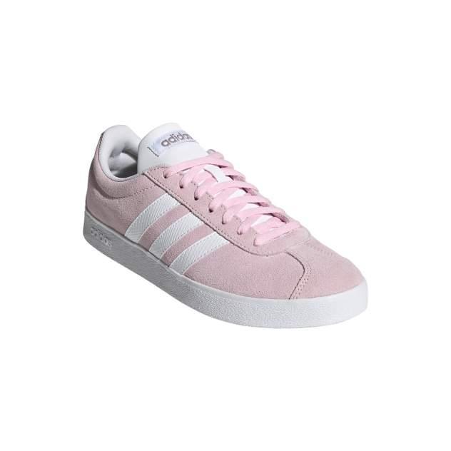 Кеды женские Adidas VL Court 2.0 розовые 6.5 UK