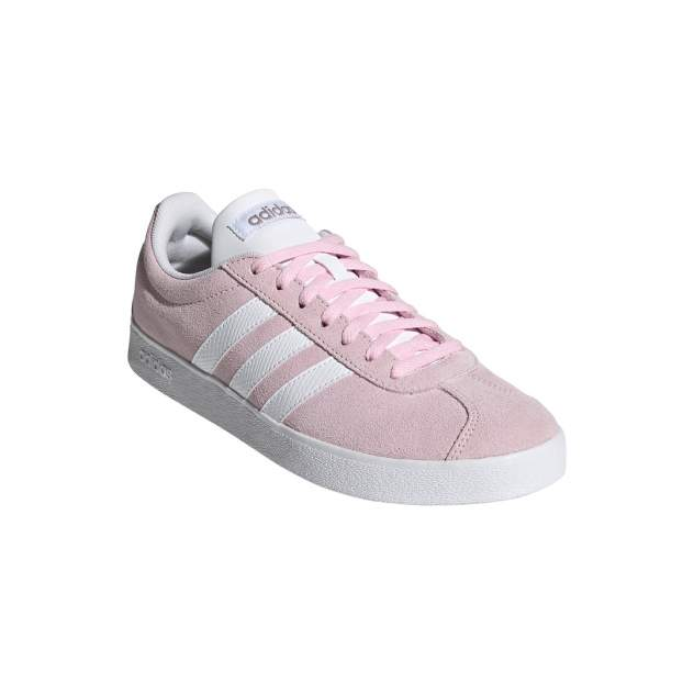 Кеды женские, Adidas VL Court 2.0, розовый