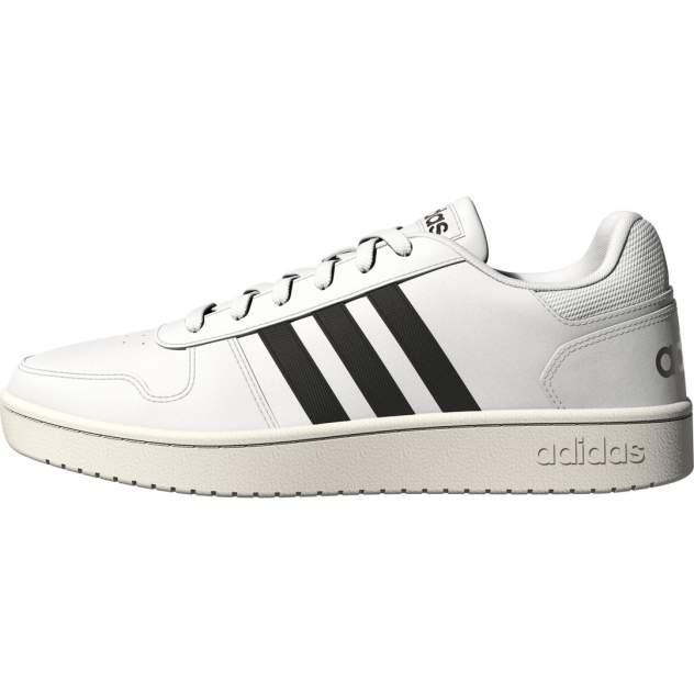 Кроссовки мужские Adidas Hoops 2.0, белый
