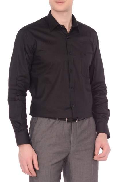 Рубашка мужская KarFlorens LCY черная L