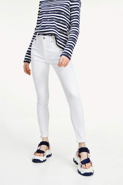 Джинсы женские Tommy Jeans DW0DW08085 белые 27/32