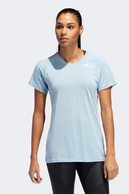Футболка женская Adidas DT6150 голубая 2XS