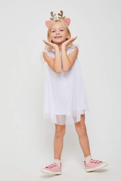 Платье детское Sela, цв.белый