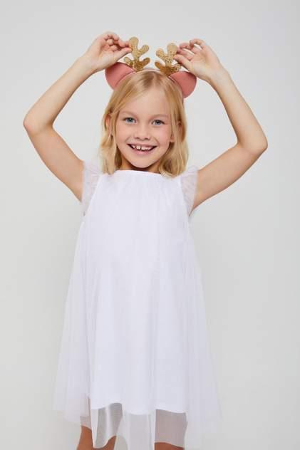 Платье для девочек Sela цв. белый р-р. 92