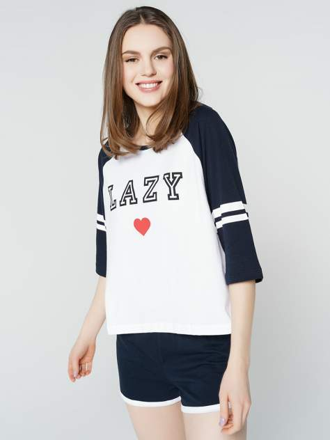 Пижама женская ТВОЕ 67823 синяя XL