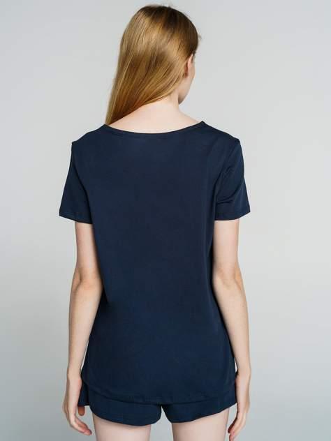 Пижама женская ТВОЕ 74856 синяя XS