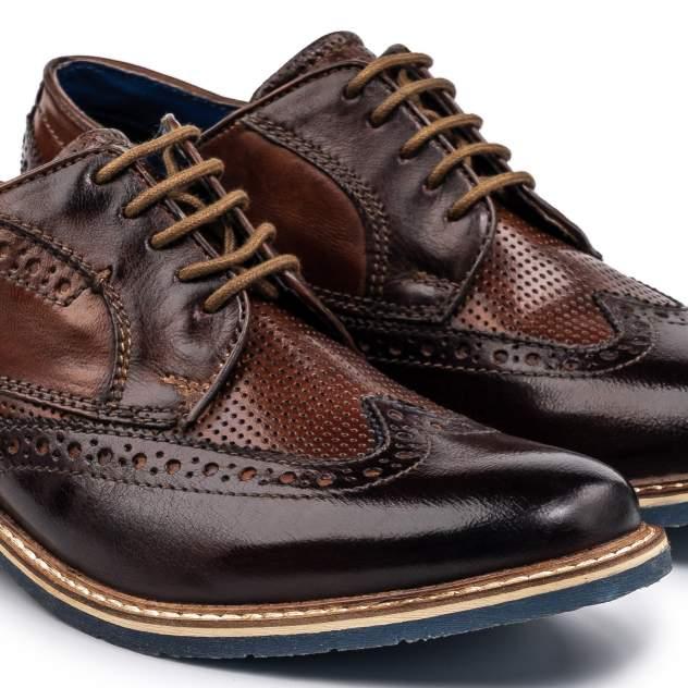 Туфли мужские Bugatti Adamo коричневые 43 EU