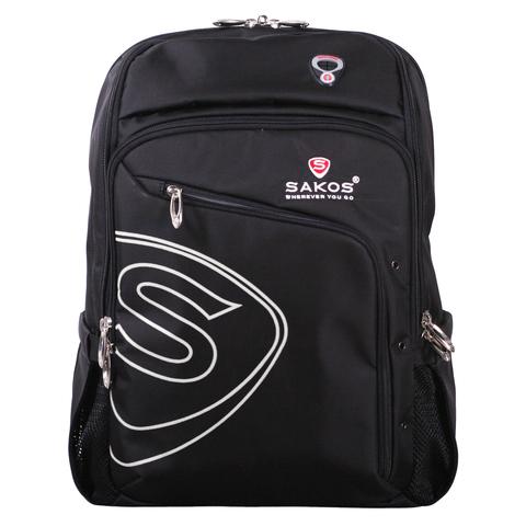 Рюкзак мужской Sakos SBV077BKNG черный