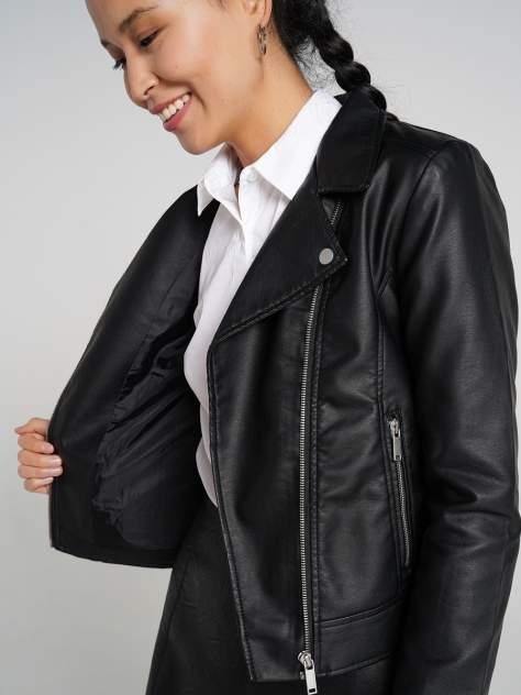 Кожаная куртка женская ТВОЕ A6592 черная S