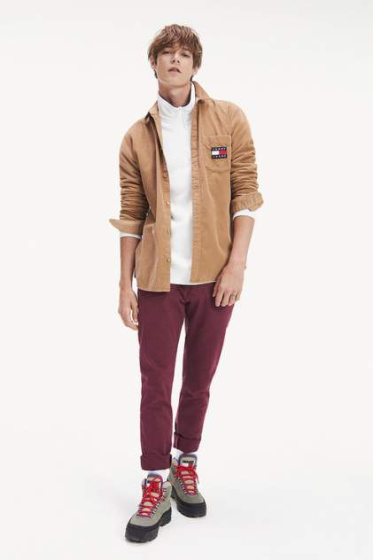 Брюки мужские Tommy Jeans DM0DM06518 красные 48-50