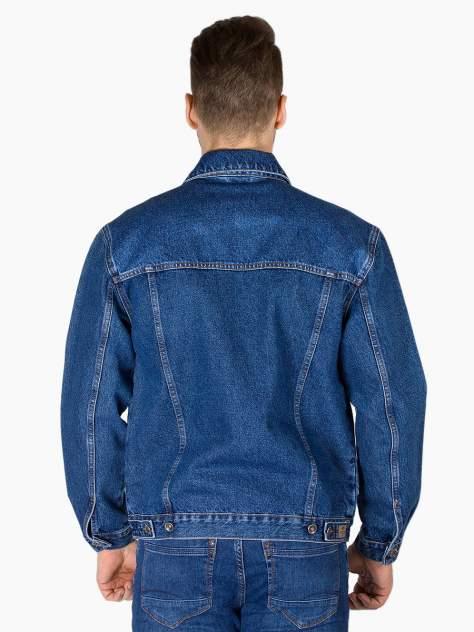 Джинсовая куртка мужская Dairos GD5060501 синяя XXL