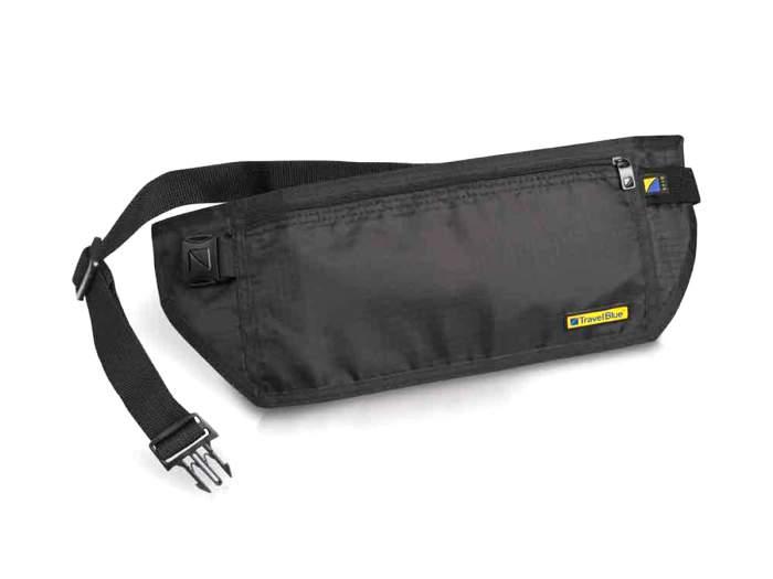 Поясная сумка-кошелек с RFID-защитой Travel Blue RFID (114) черная
