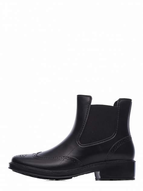 Резиновые ботинки женские INSTREET 268-01WA-011XT черные 38 RU