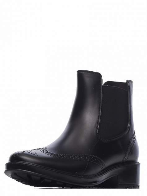 Резиновые ботинки женские INSTREET 268-01WA-011XT черные 41 RU