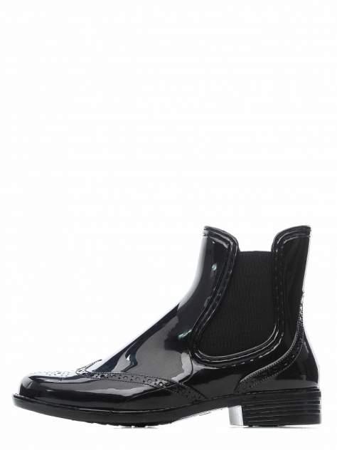Резиновые ботинки женские INSTREET 268-33WA-198XT черные 36 RU