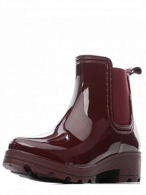 Резиновые ботинки женские INSTREET 268-33WA-200XT бордовые 36 RU
