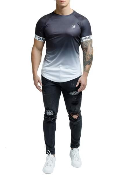 Футболка мужская Sarman SC13 черная M